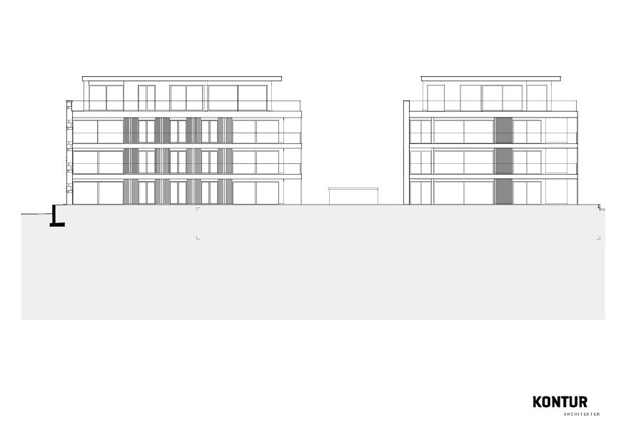 Ansichten Turmatt de KONTUR ARCHITEKTEN AG