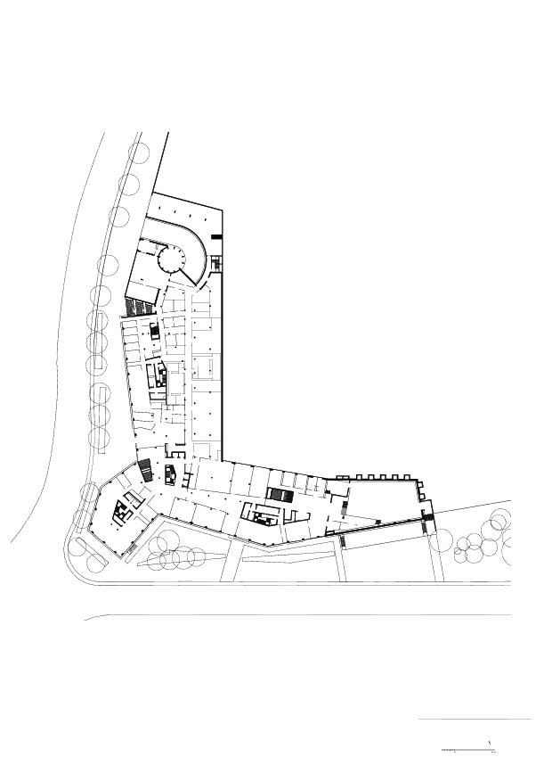 Rez-de-chaussée Campus Santé à Genève de LRS Architectes SA