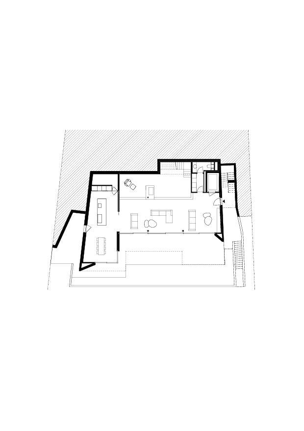 Rez-de-chaussée Residenza Bellavista de Studio d'architettura<br/>