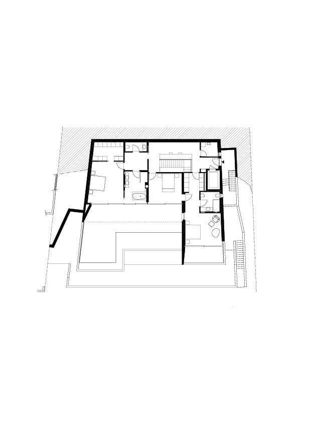 1. Obergeschoss Residenza Bellavista von Studio d'architettura<br/>