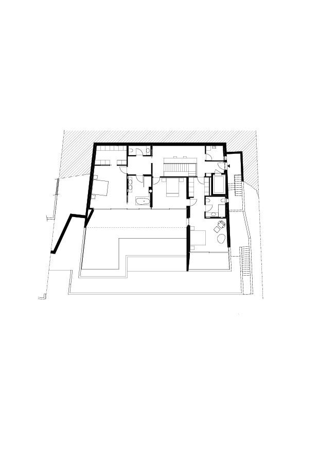 1er étage Residenza Bellavista de Studio d'architettura<br/>