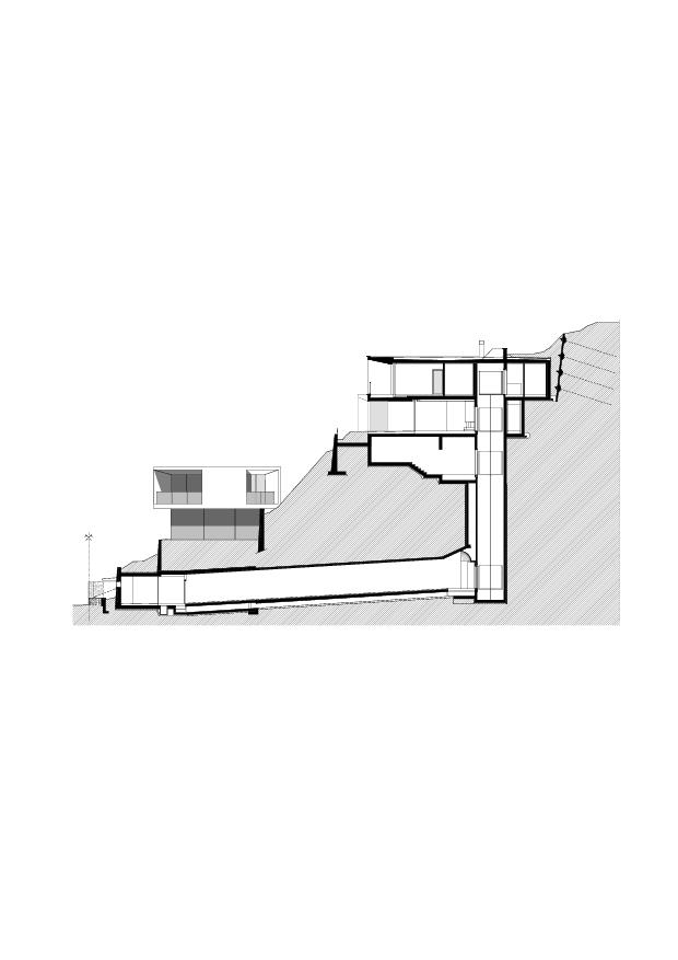 Schnitt Residenza Bellavista von Studio d'architettura<br/>