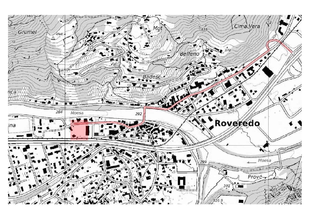 Schwarzplan Progetto Butterfly von Studio d'Architettura<br/>