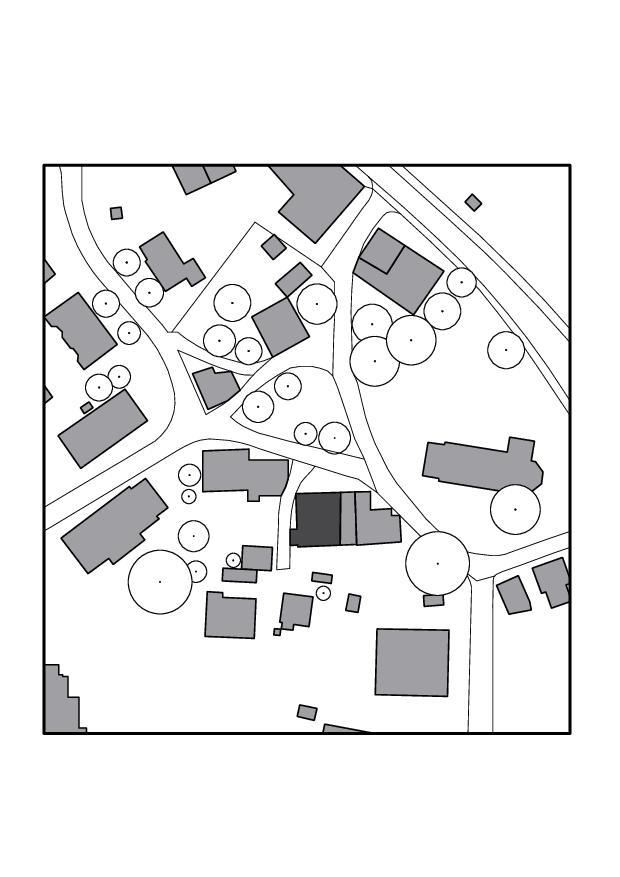 Situation Umbau Bauernhaus und Scheune de Tschander.Keller Architekten