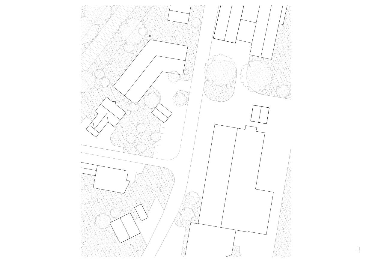 Situation Wohnhaus vis-à-vis von luna productions GmbH