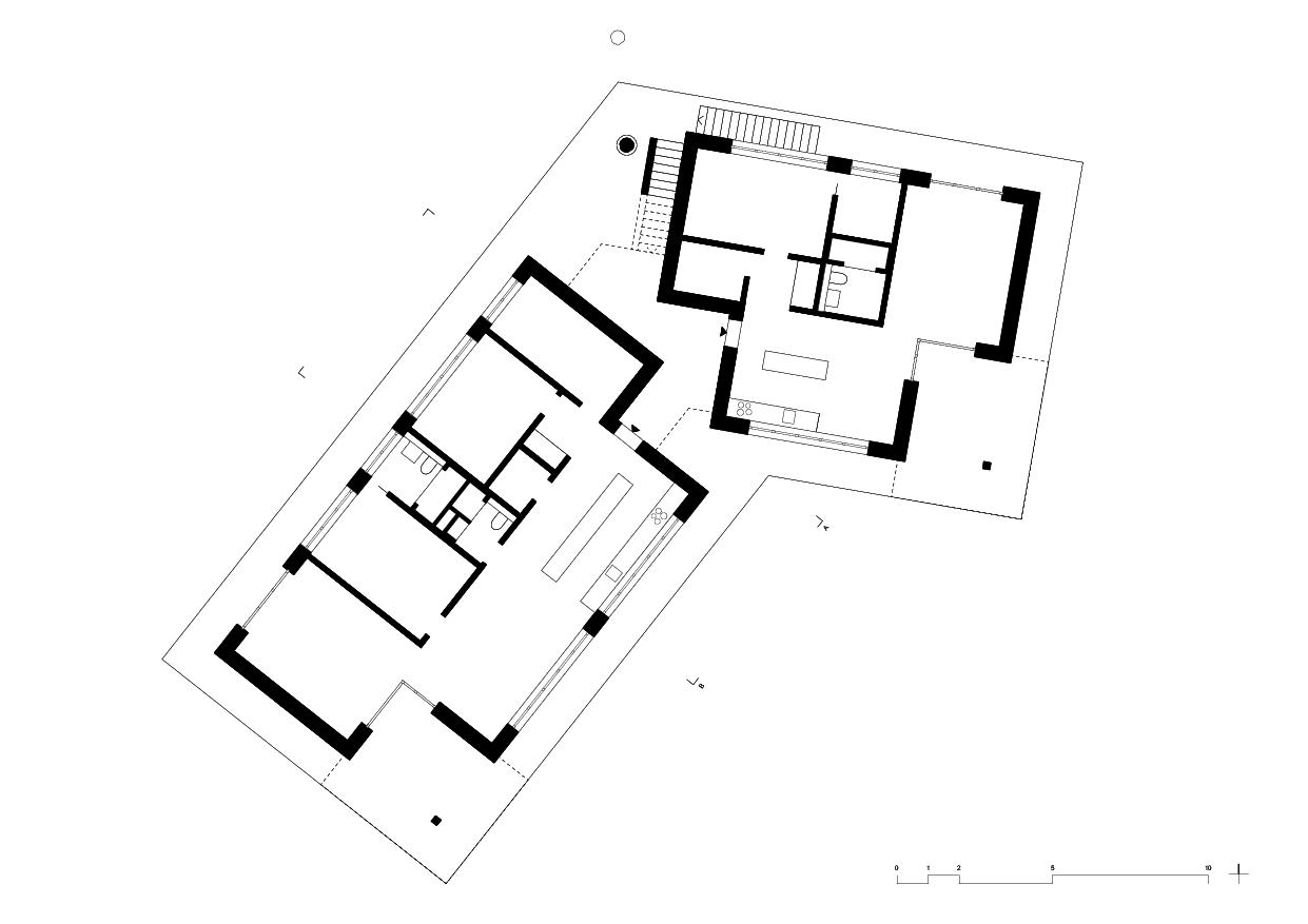 Erdgeschoss Wohnhaus vis-à-vis von luna productions GmbH