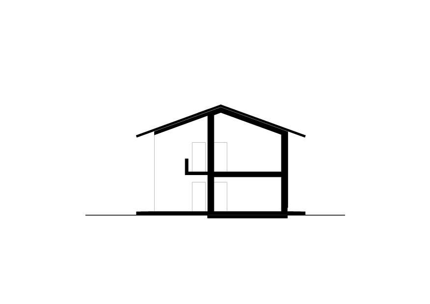 Schnitt A Wohnhaus vis-à-vis von luna productions GmbH