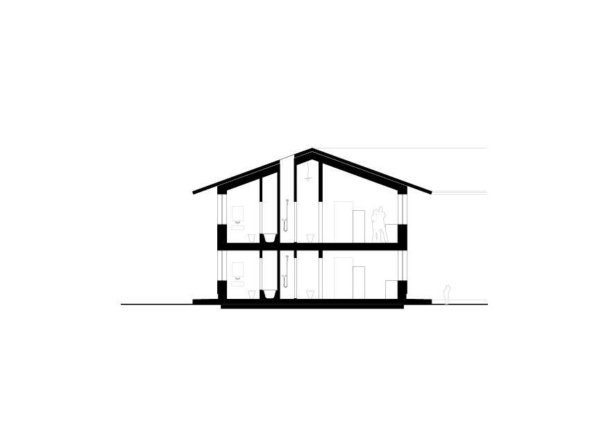 Schnitt B Wohnhaus vis-à-vis von luna productions GmbH