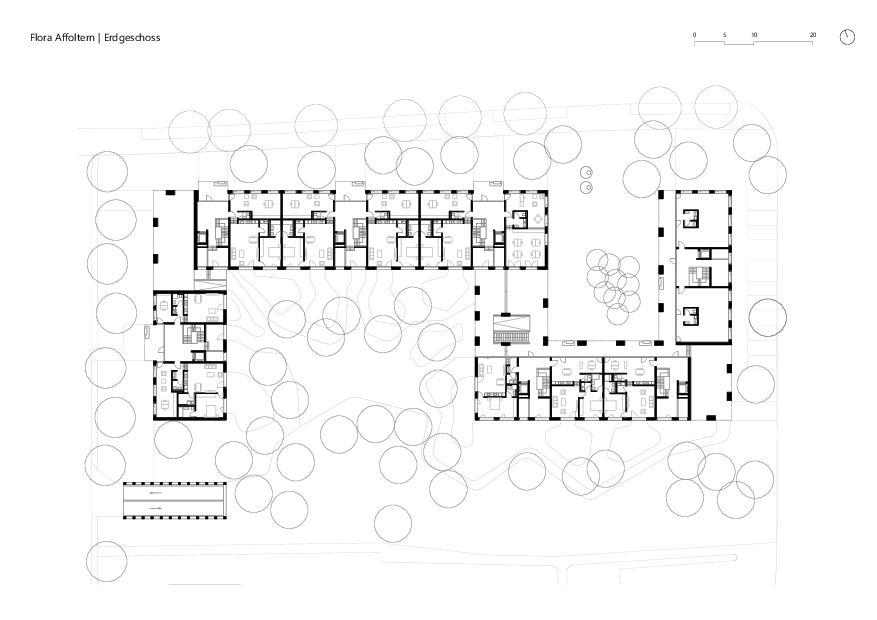 Erdgeschoss Flora Affoltern von KMP Architektur AG