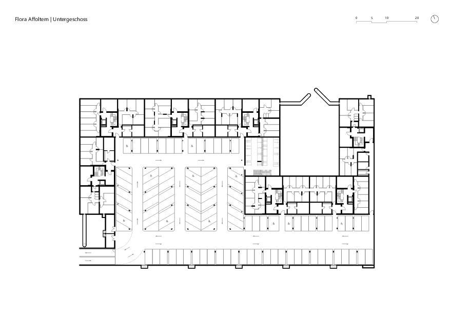 Untergeschoss Flora Affoltern von KMP Architektur AG