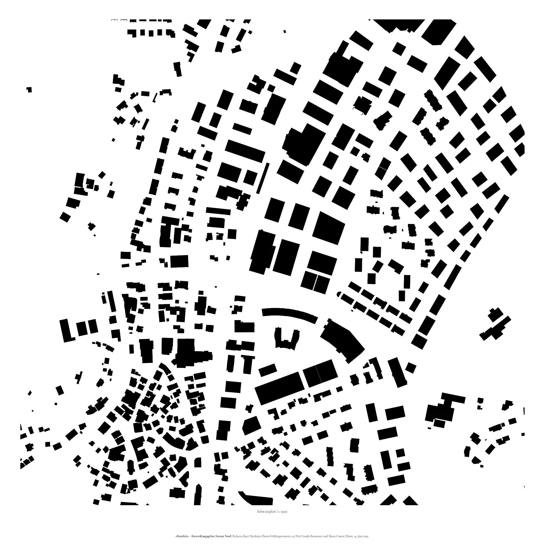 Plan de masse 1-1500