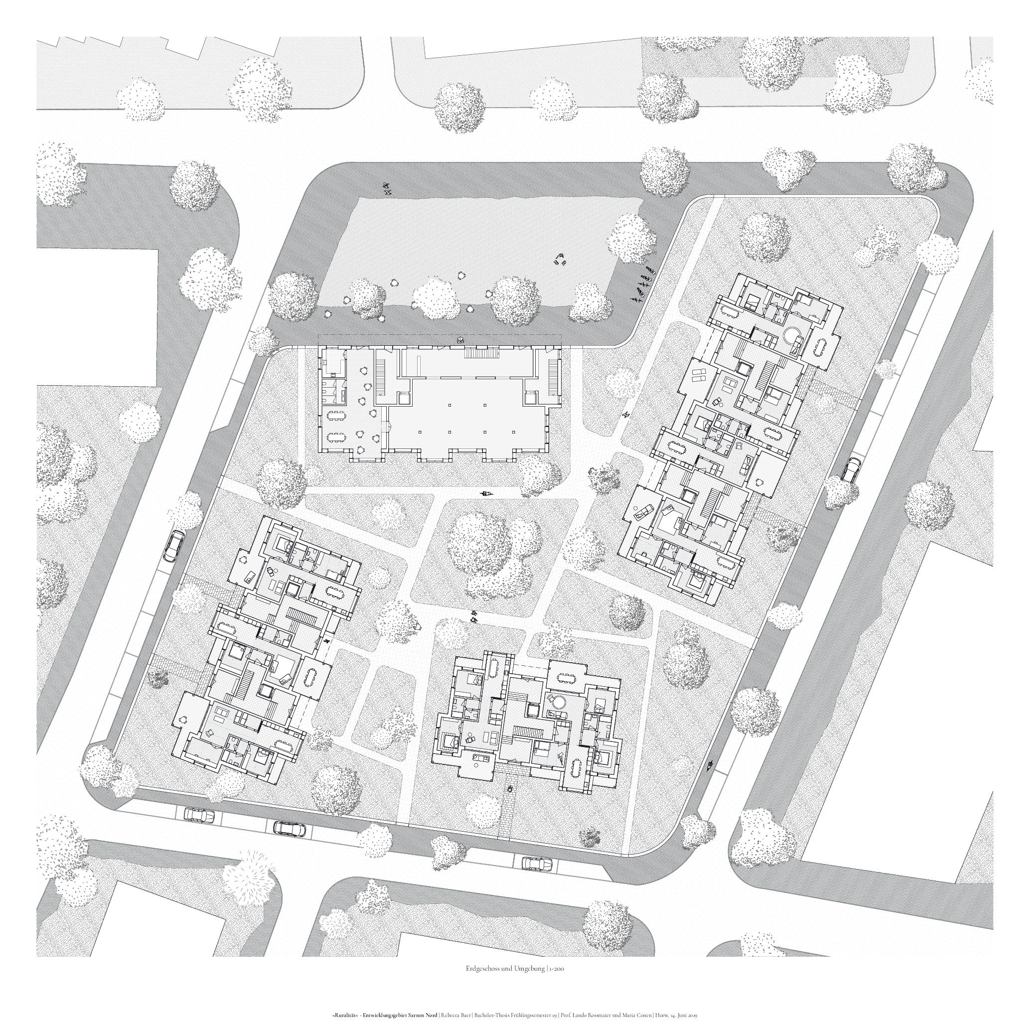 Erdgeschoss | Umgebung 1-200