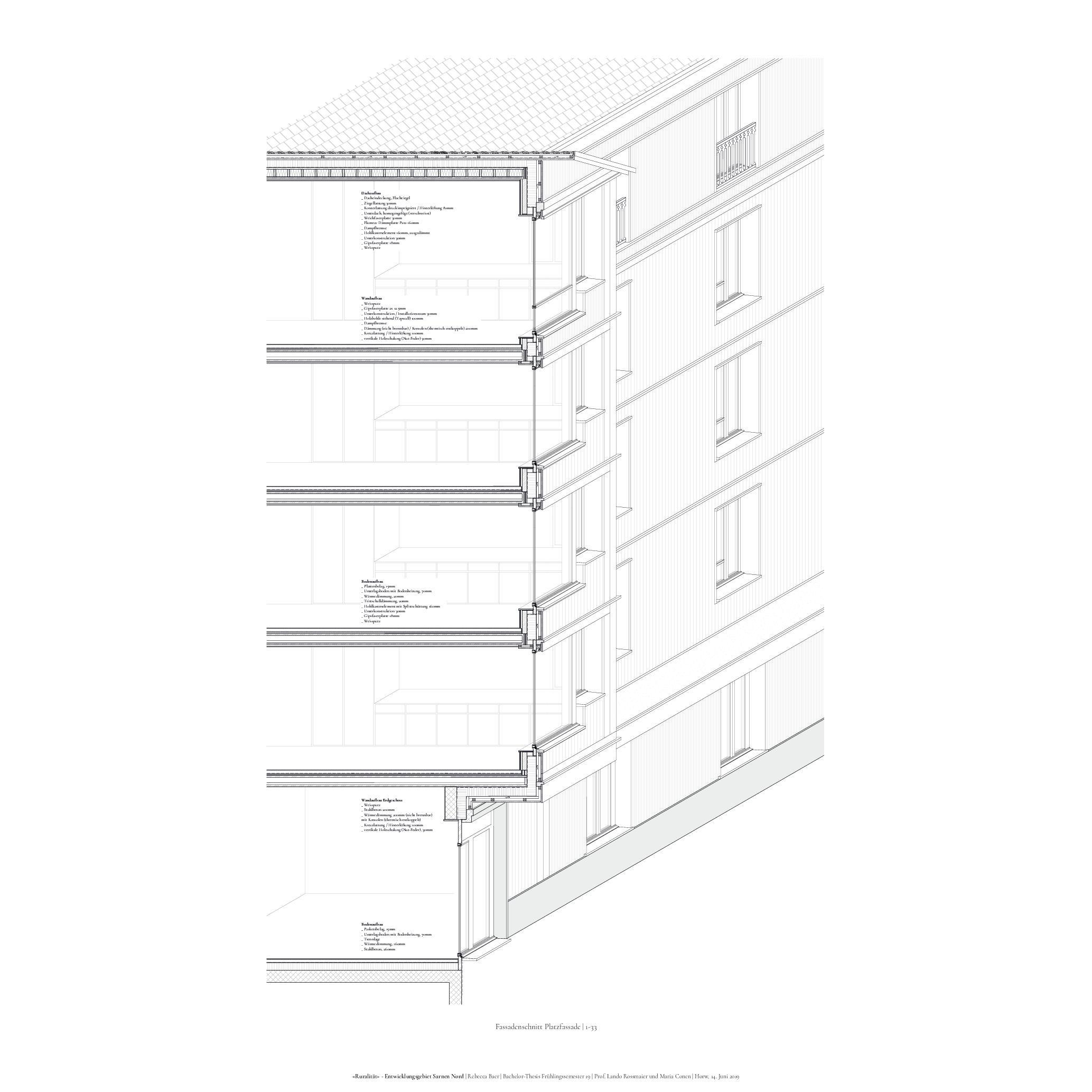 Fassadenschnitt 1-33