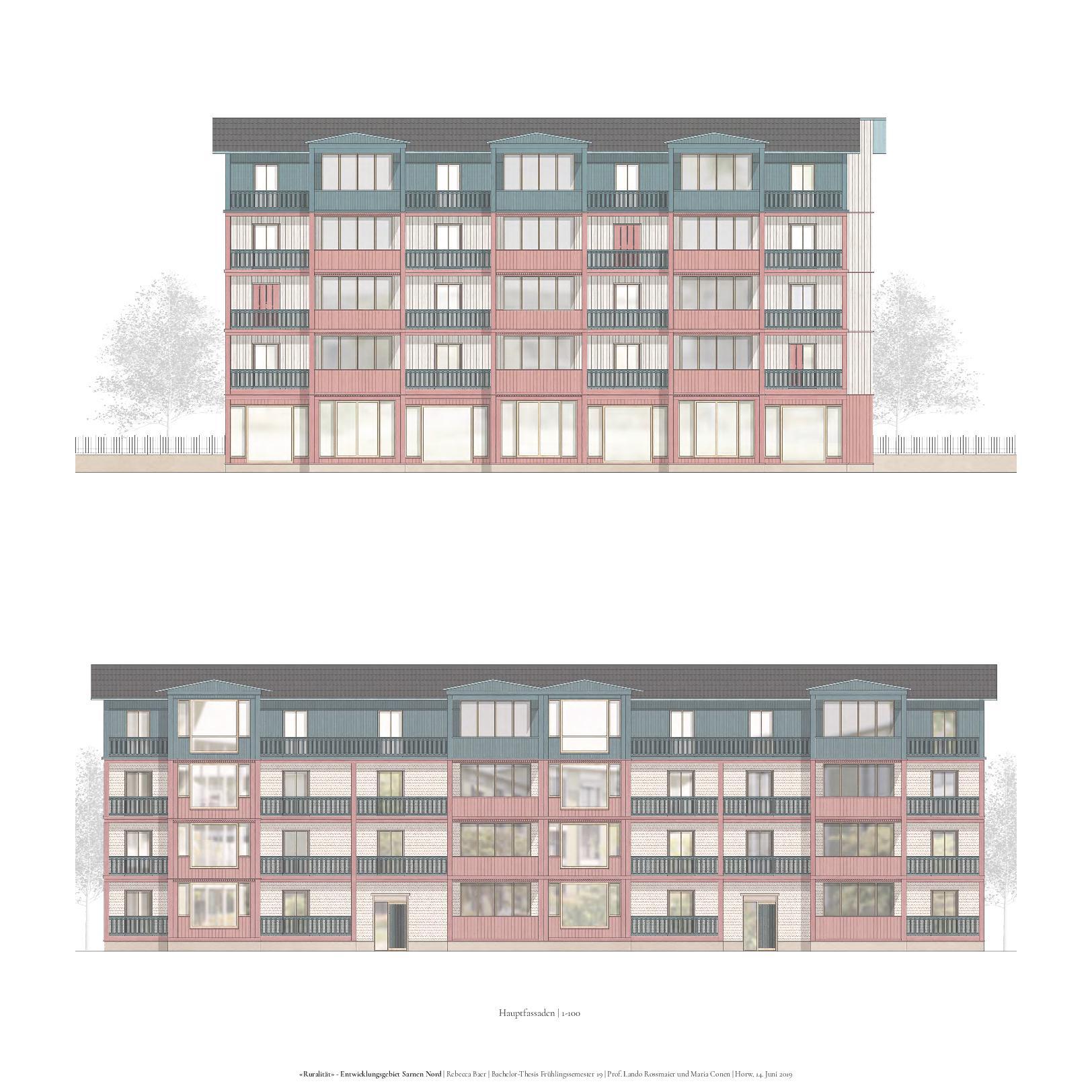 Fassaden 1-200