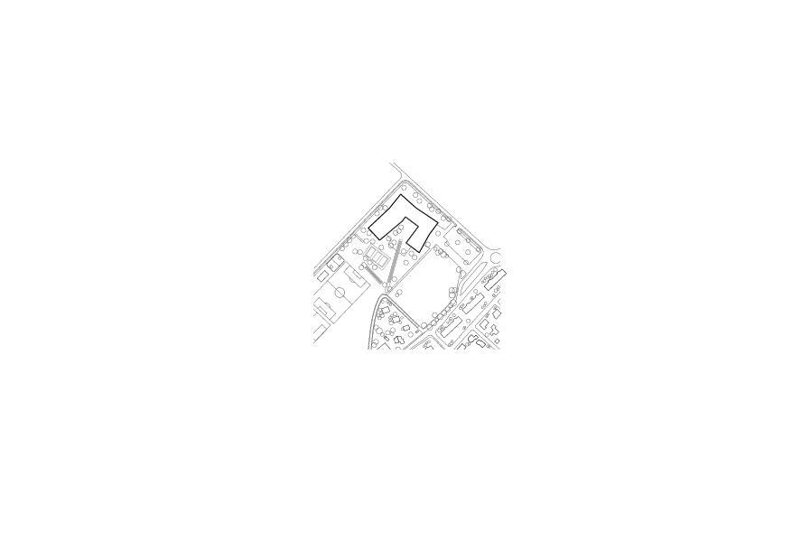 Situation Cycle d'Orientation (CO) de la Gruyère von Architectes EPFL FAS SIA<br/>