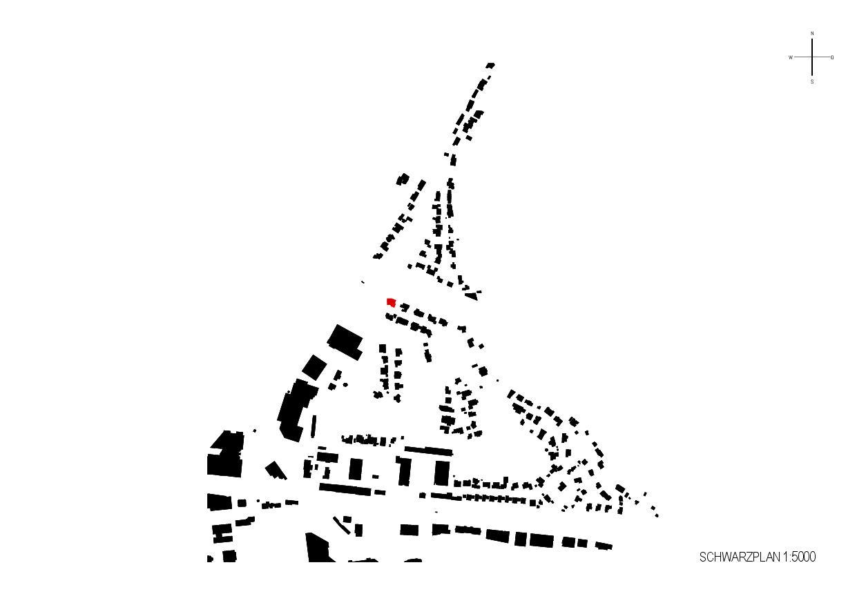 Plan de masse Hurdnerwäldli de Rudolf Neff<br/>