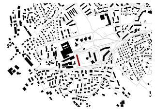 Situation 1:5000 Wohnüberbauung am Herterweiher, Uster de Morger + Dettli Architekten AG