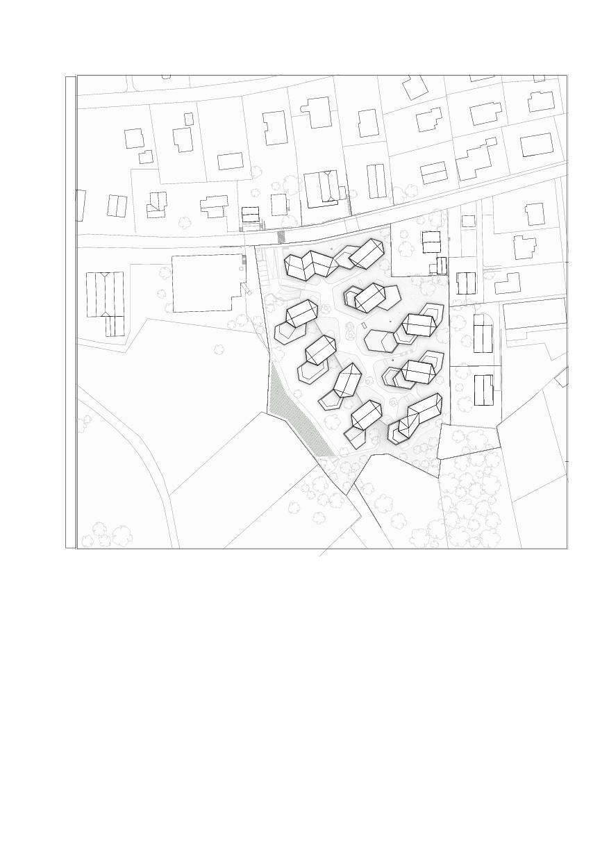 Situation Wohnanlage Domaine de Vitis de IPAS Architectes SA