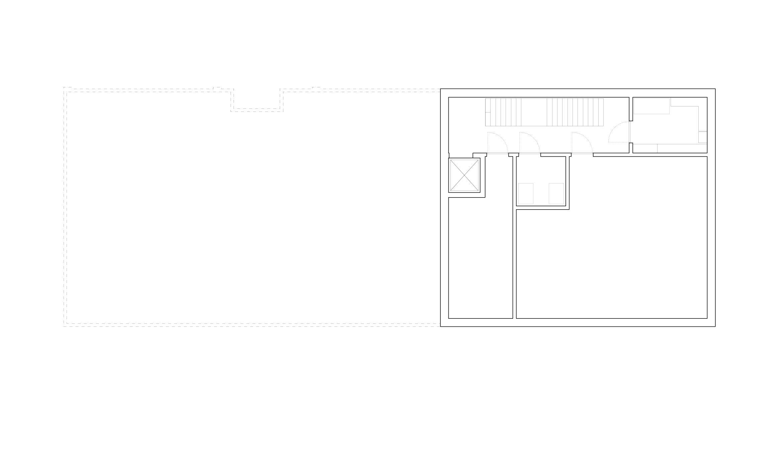 Grundriss Untergeschoss Schulhaus Alp II, Wangen b. Olten von werk1 architekten und planer ag