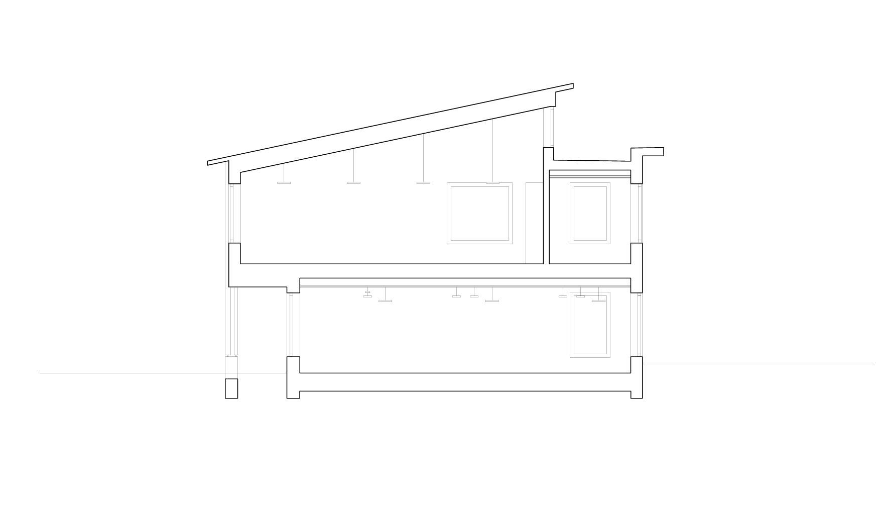Querschnitt Schulhaus Alp II, Wangen b. Olten von werk1 architekten und planer ag