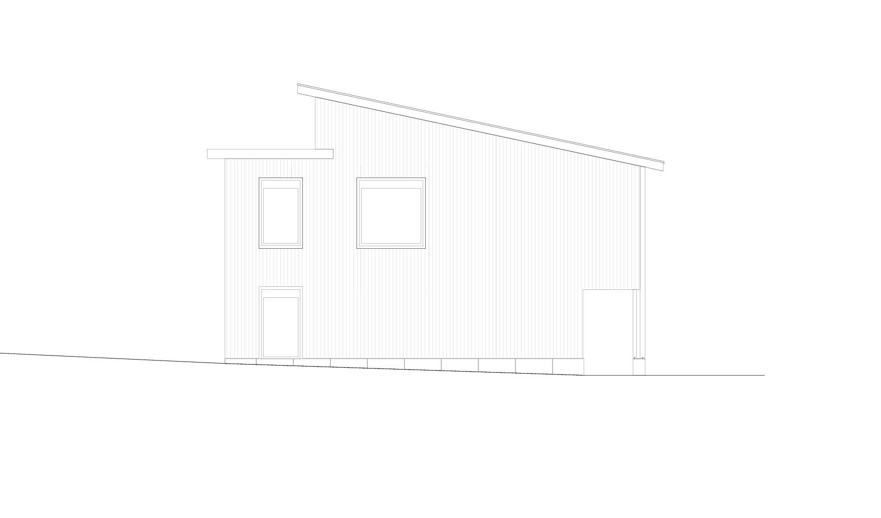 Westfassade  Schulhaus Alp II, Wangen b. Olten von werk1 architekten und planer ag