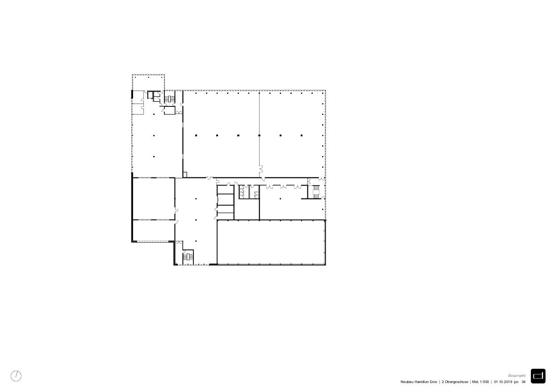 2e.étage Produktionsgebäude Hamilton Ems de DOMENIG ARCHITEKTEN AG