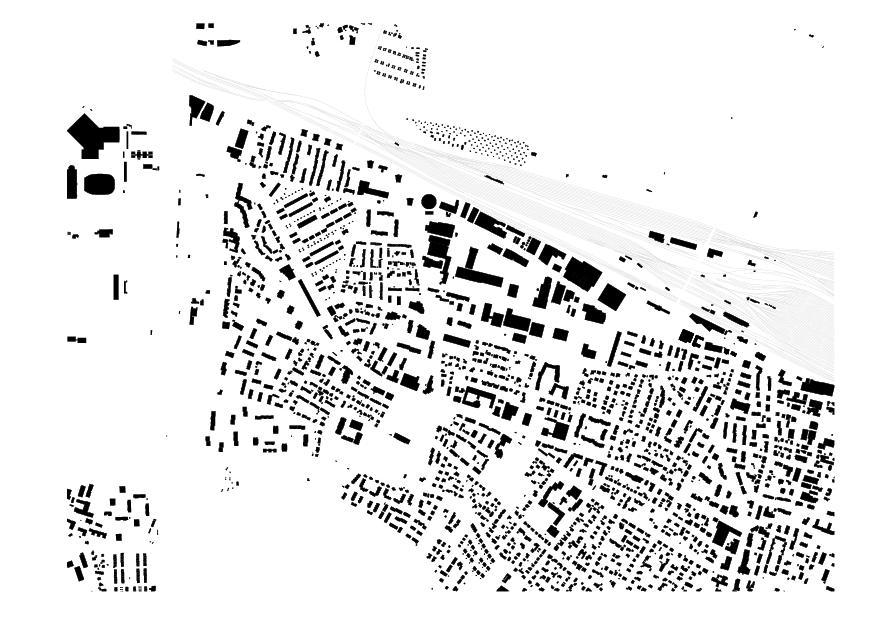 plan de masse FHNW-Campus Muttenz de pool Architekten