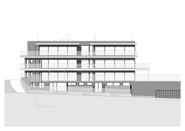 Vue ouest Haus am Rosenberg de Zottele & Gallicchio Architekten AG