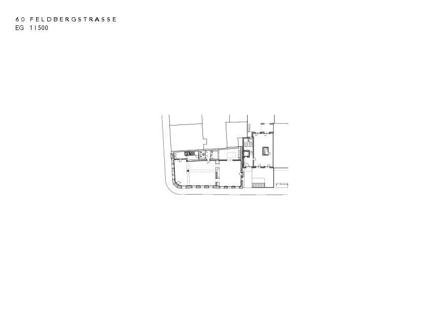 Erdgeschoss Instandsetzung und Neubau Feldbergstrasse von Architekturbüro<br/>