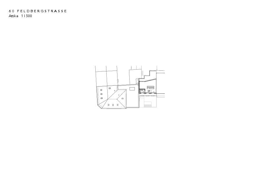 Attikageschoss Instandsetzung und Neubau Feldbergstrasse von Architekturbüro<br/>