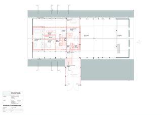 Grundriss 1. Dachgeschoss © AST_BST Einbau zweier Wohnungen in den schützenswerten Grossacherhof von Architekten Gemeinschaft Stoll Stähli