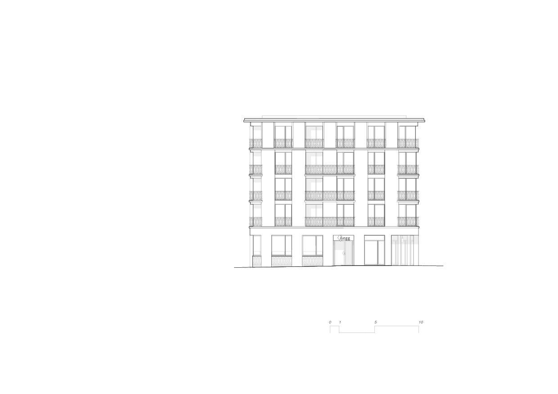 Vue sud-est 5egg Flawil de Brechbuehler Walser Architekten