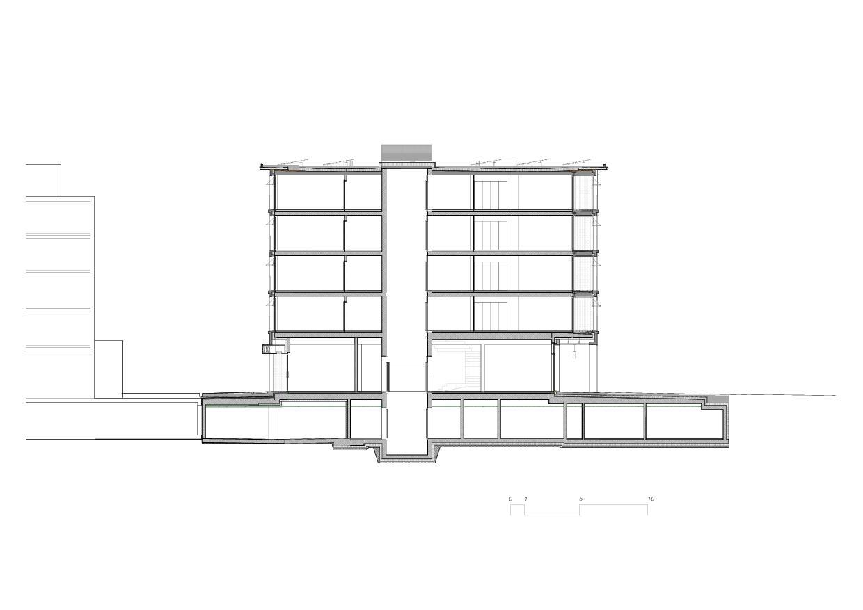 Coupe 5egg Flawil de Brechbuehler Walser Architekten