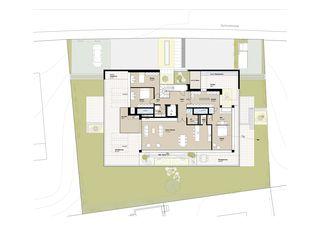 OG_Grundriss 3 MFH Habsburgerblick in Meggen von Antonietty Architekten AG