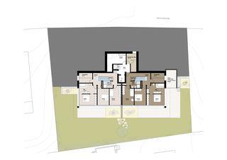 UG_Grundriss 3 MFH Habsburgerblick in Meggen von Antonietty Architekten AG