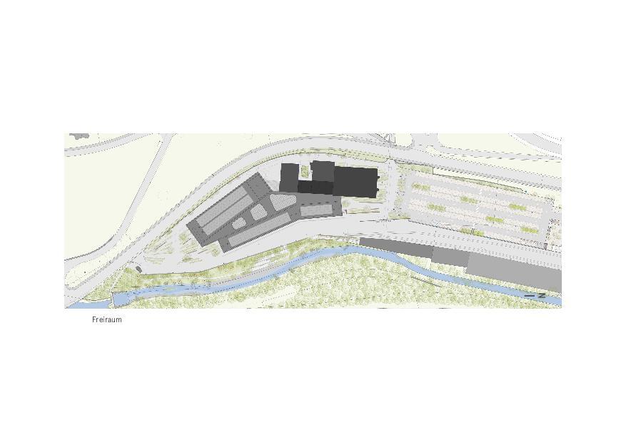 Freiraum Givaudan - Zurich Innovation Center von Bauart Architekten und Planer AG