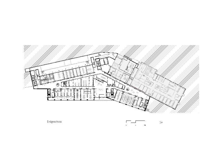 Grundriss EG Givaudan - Zurich Innovation Center von Bauart Architekten und Planer AG