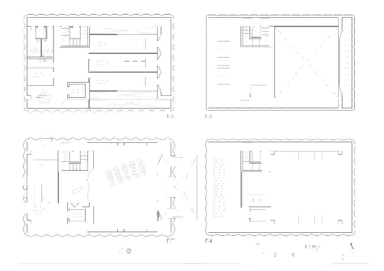 Grundrisse Centro Funerario Bellinzona - CAFUBE SA von Studio d'architettura<br/>