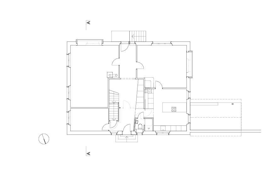 Erdgeschoss Umbau Im Wygärtli, Hofstetten von architekten eth sia gmbh<br/>