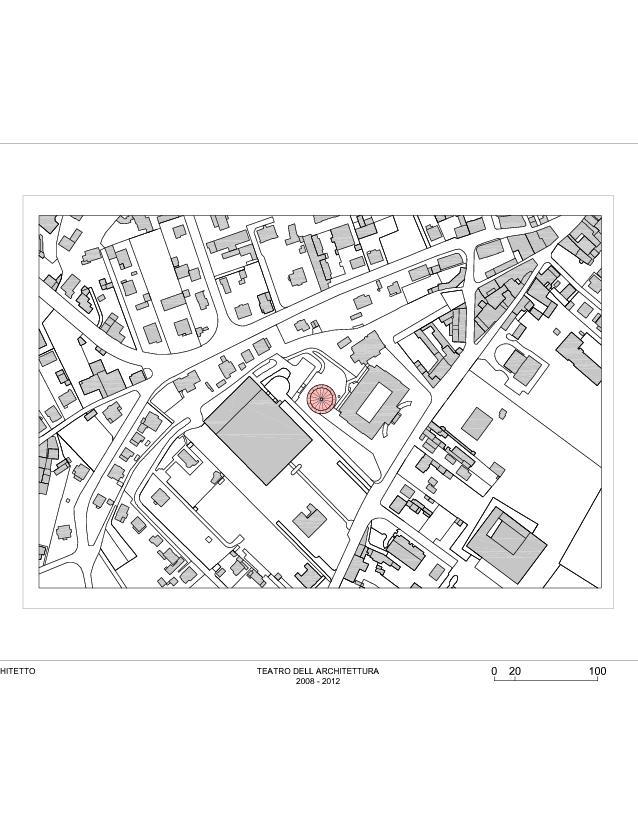 Plan de situation à Mendrisio Teatro dell'Architettura, Mendrisio de Studio d'architettura<br/>