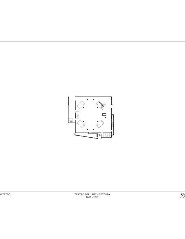 Plan sous-sol Teatro dell'Architettura, Mendrisio de Studio d'architettura<br/>
