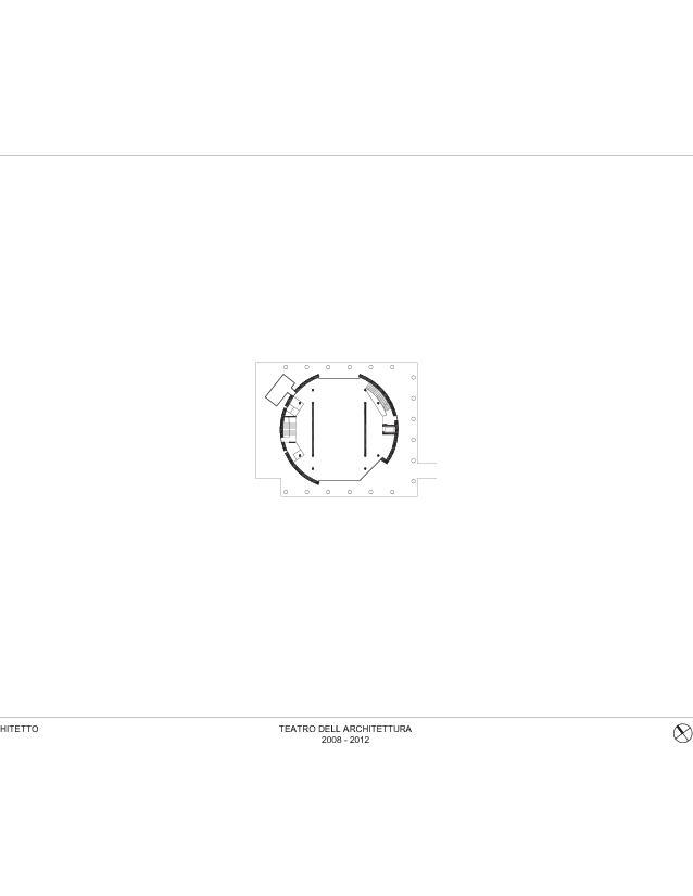 Plan rez-de-chaussée Teatro dell'Architettura, Mendrisio de Studio d'architettura<br/>