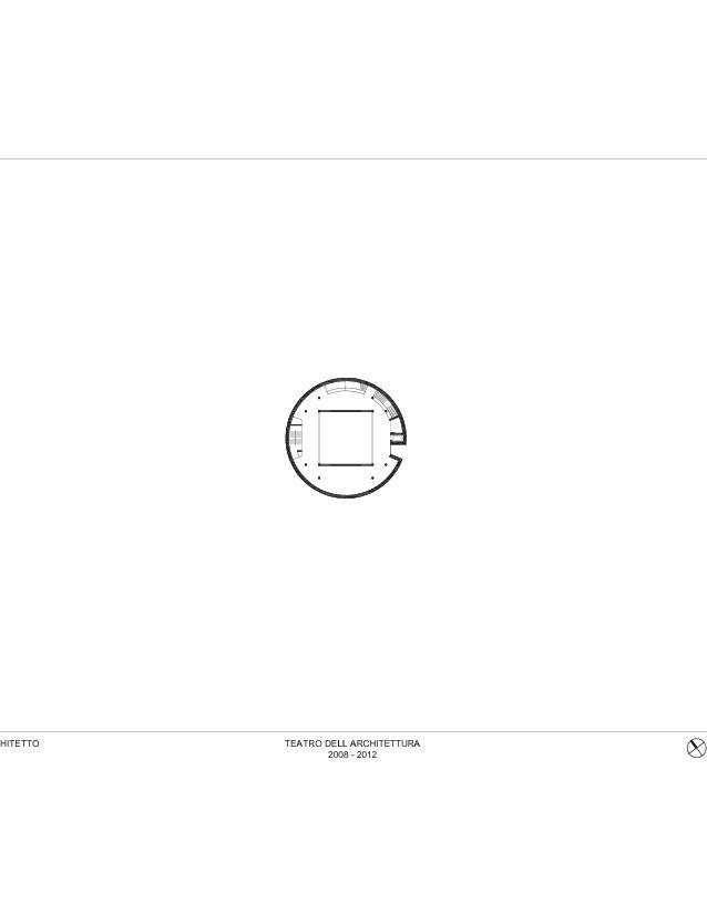 Plan 1er étage Teatro dell'Architettura, Mendrisio de Studio d'architettura<br/>