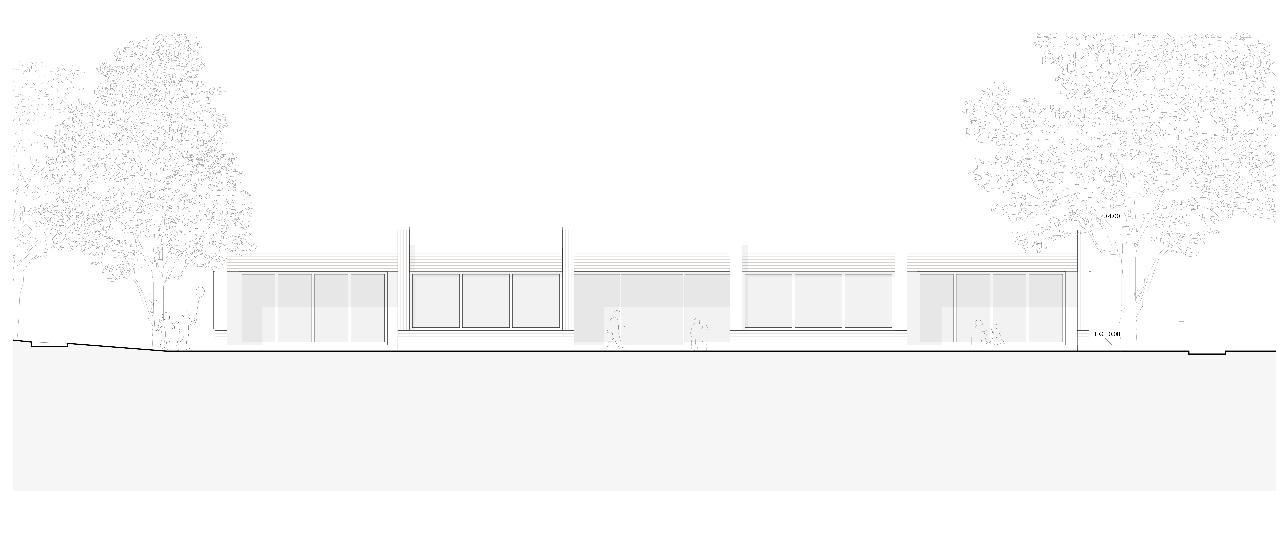 Ansicht Südwest Neubau Doppelkindergarten Steinmürli Dietikon von Schmid Ziörjen Architektenkollektiv