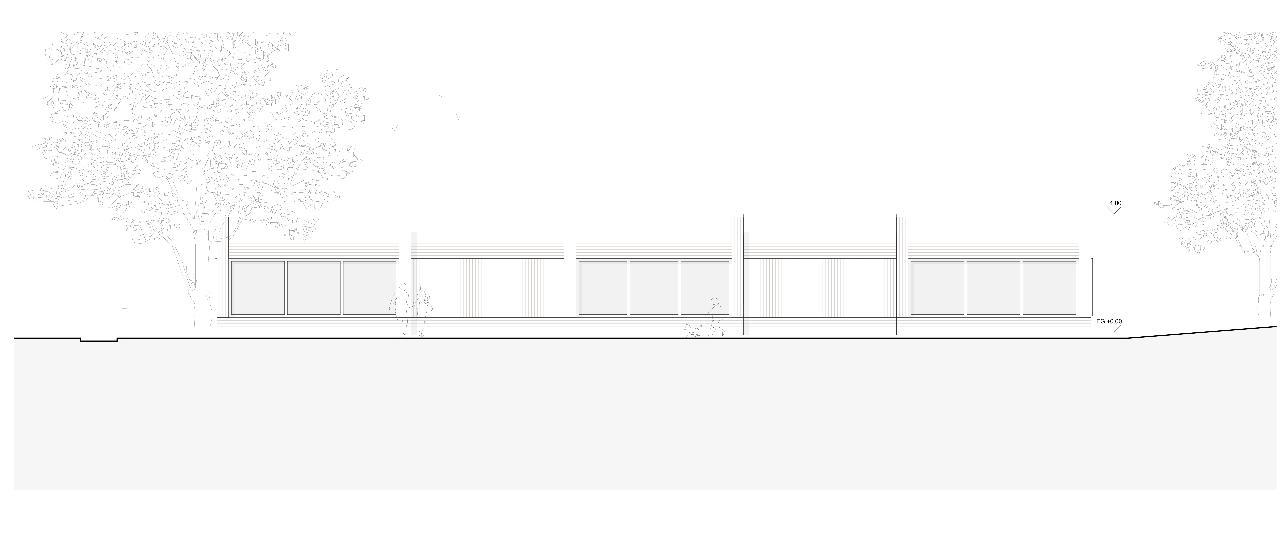 Ansicht Nordost Neubau Doppelkindergarten Steinmürli Dietikon von Schmid Ziörjen Architektenkollektiv