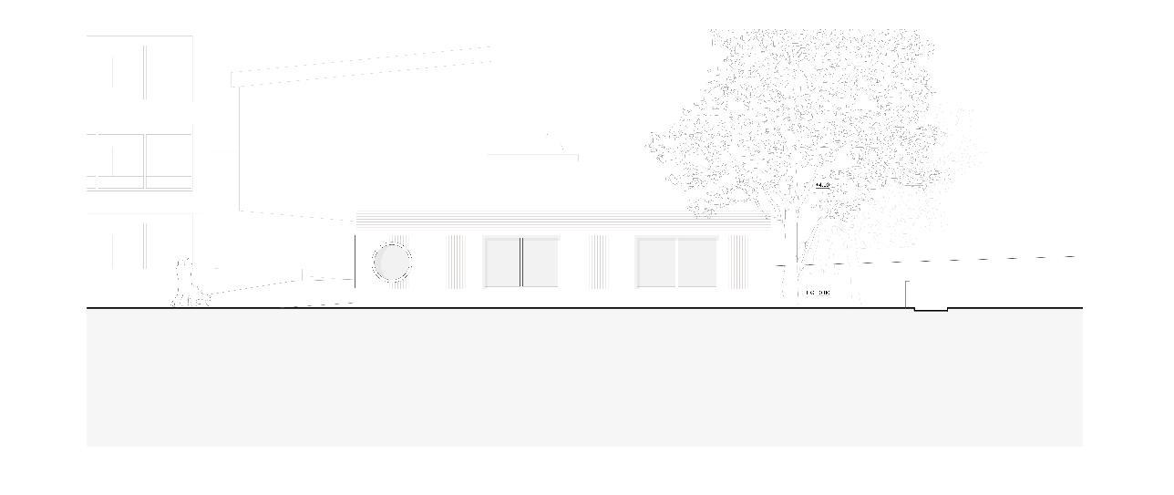 Vue sud-est Neubau Doppelkindergarten Steinmürli Dietikon de Schmid Ziörjen Architektenkollektiv