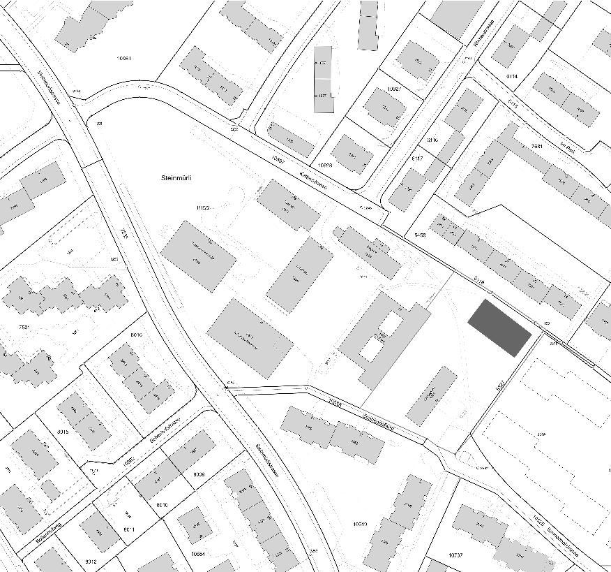 Situation Neubau Doppelkindergarten Steinmürli Dietikon von Schmid Ziörjen Architektenkollektiv