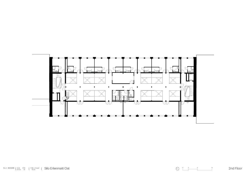 Dachgeschoss Umbau Silo Erlenmatt, Basel von Architekturbüro<br/>