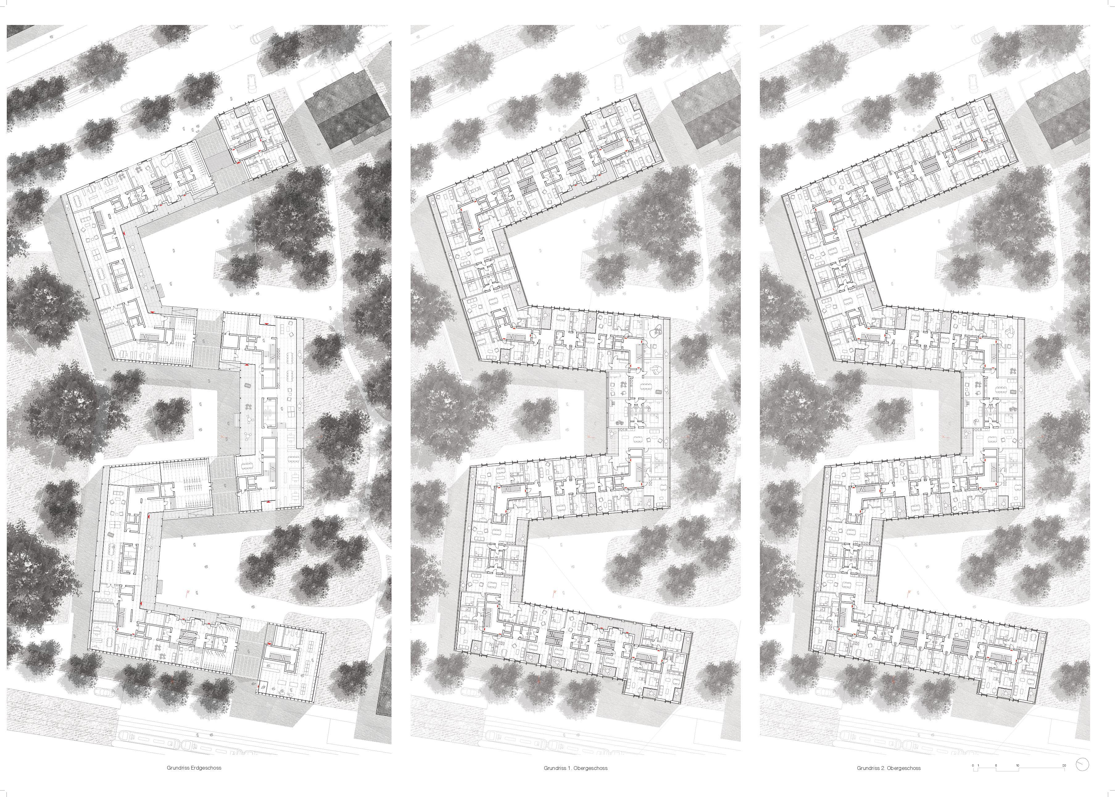 Plan 5 - Grundrisse SommerKAAsino von