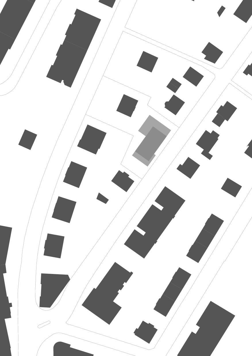 Situation Wohnresidenz Schösslistrasse, Ennetbaden (AG) von Atelier West Architekten AG
